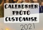 Calendrier photo customisé