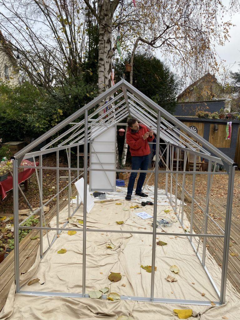 construire une serre de jardin