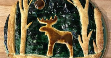 galette des rois originale foret cerf