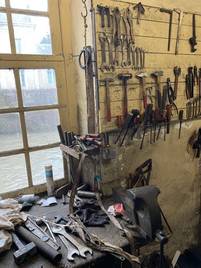 vieux atelier vintage