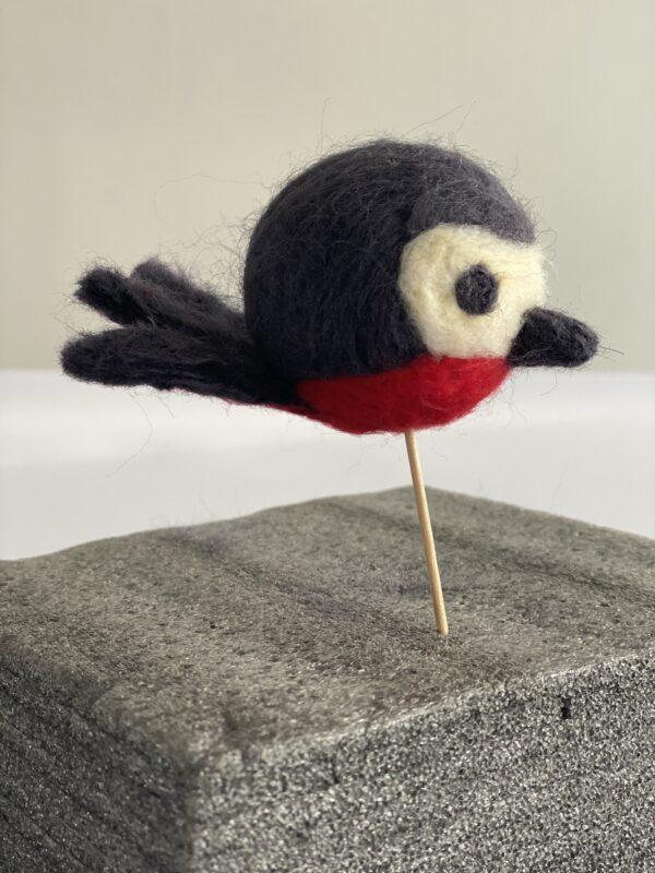 kit laine cardée oiseau