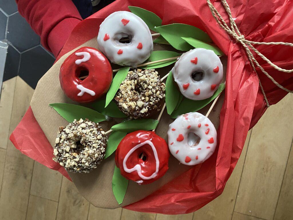 bouquet de donuts