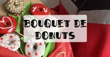 bouquet de donuts