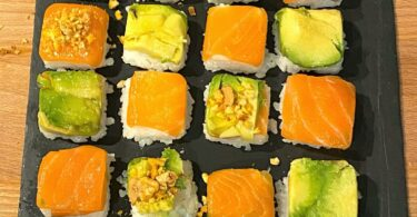 recette sushis faciles