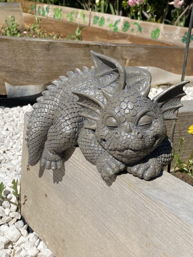 dragon de jardin