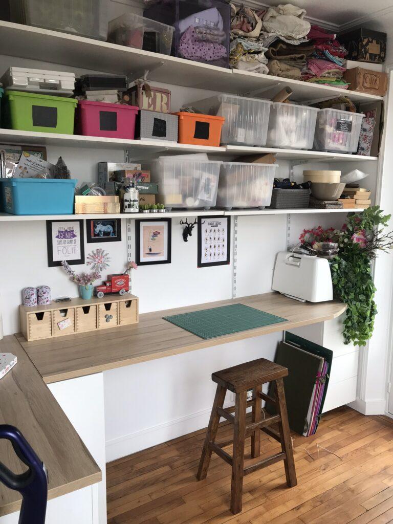 atelier créatif maison