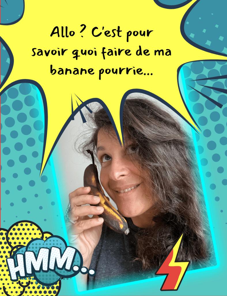 recette banane mure