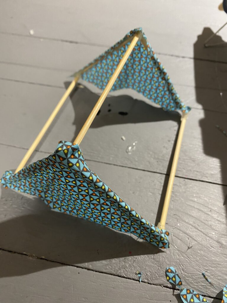 maquette camping miniature