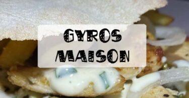 recette gyros maison
