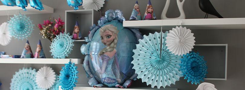 Anniversaire Frozen