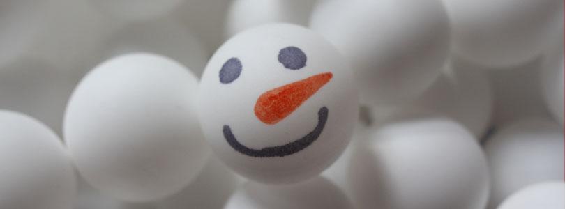 Calendrier de l'avent Bonhommes de neige