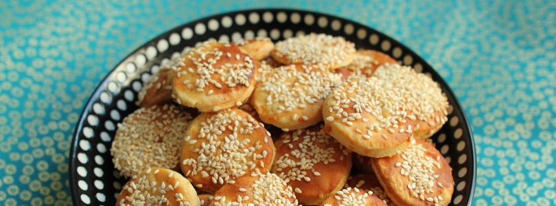 Crackers apéritif aux jaunes d'oeuf