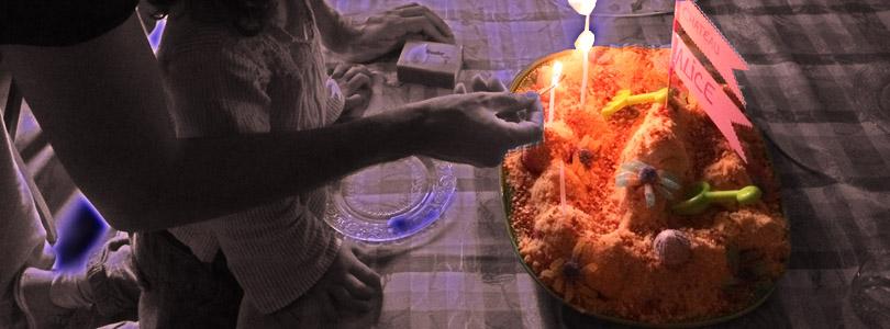 Gâteau chateau de sable