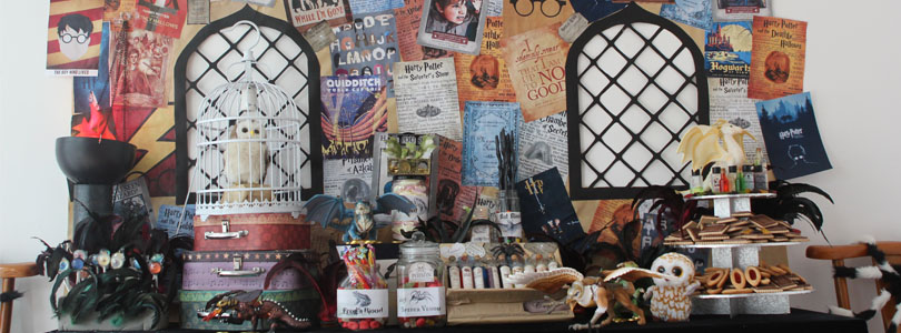 anniversaire harry potter ciloubidouille. Black Bedroom Furniture Sets. Home Design Ideas