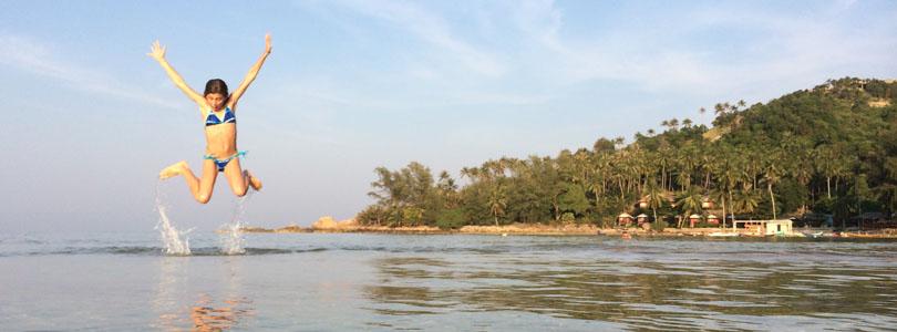 Vacances en Thaïlande en famille – Ko Pha-Ngan
