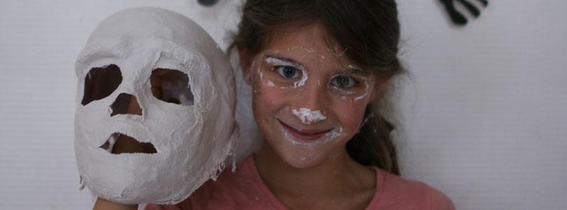 Fabriquer un crâne en plâtre