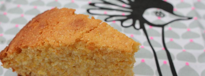 Gâteau à la semoule de maïs
