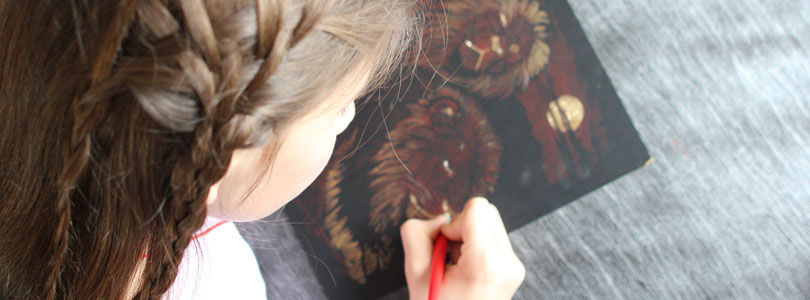 kit de gravure pour enfant