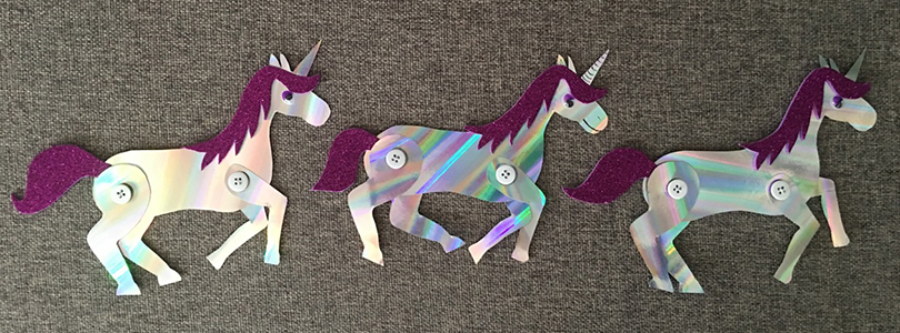 Invitations Licorne Ciloubidouille