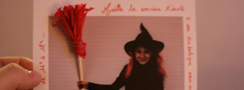 Invitation anniversaire de sorcières