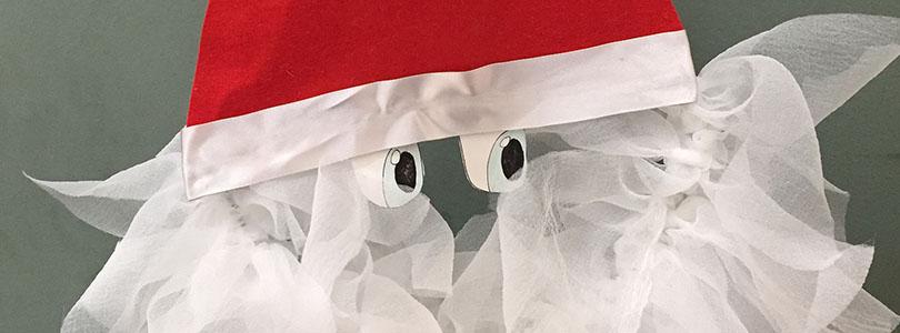 Swap Noël – Couronne de porte père noël